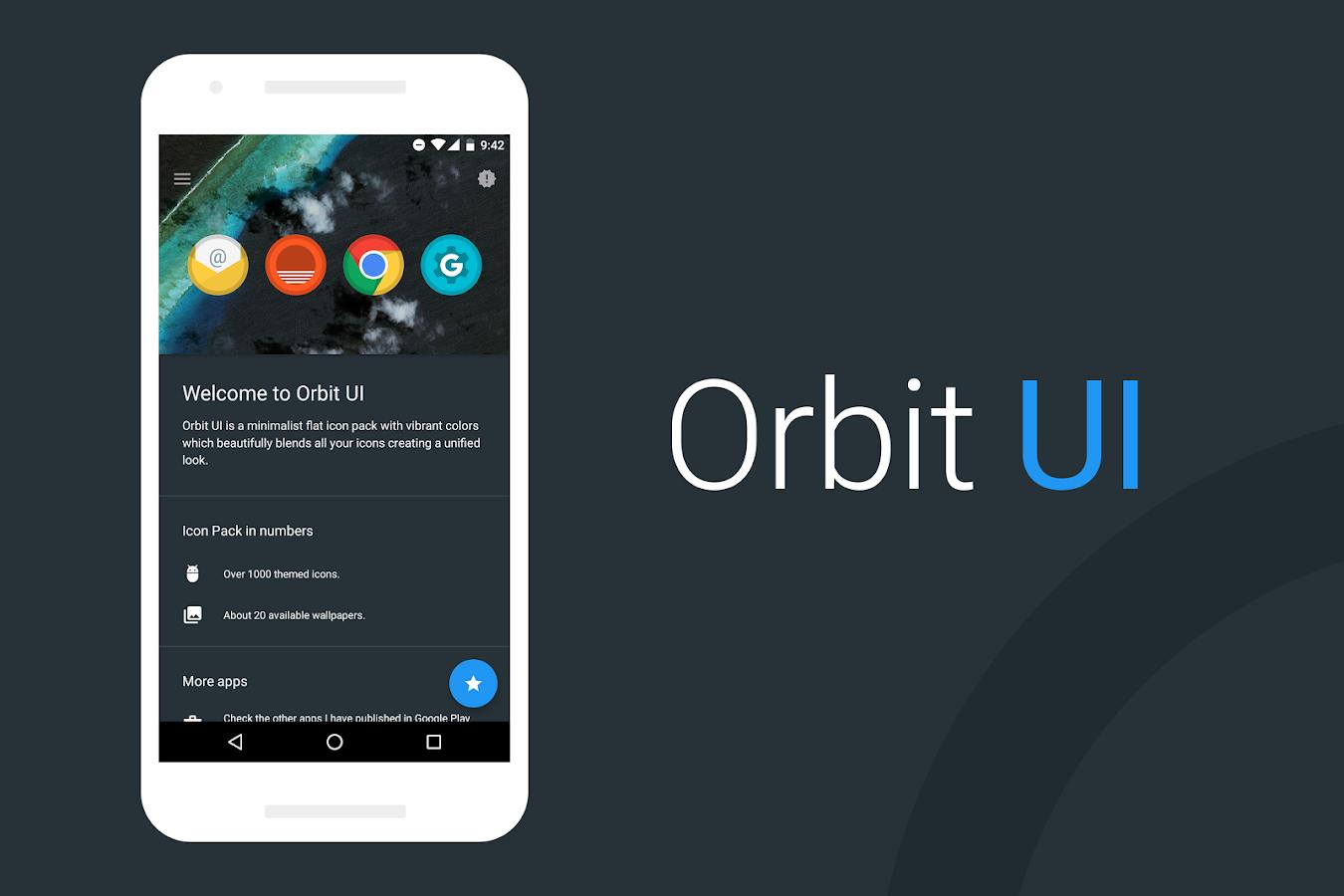 Orbit UI – Icon Pack v2.1