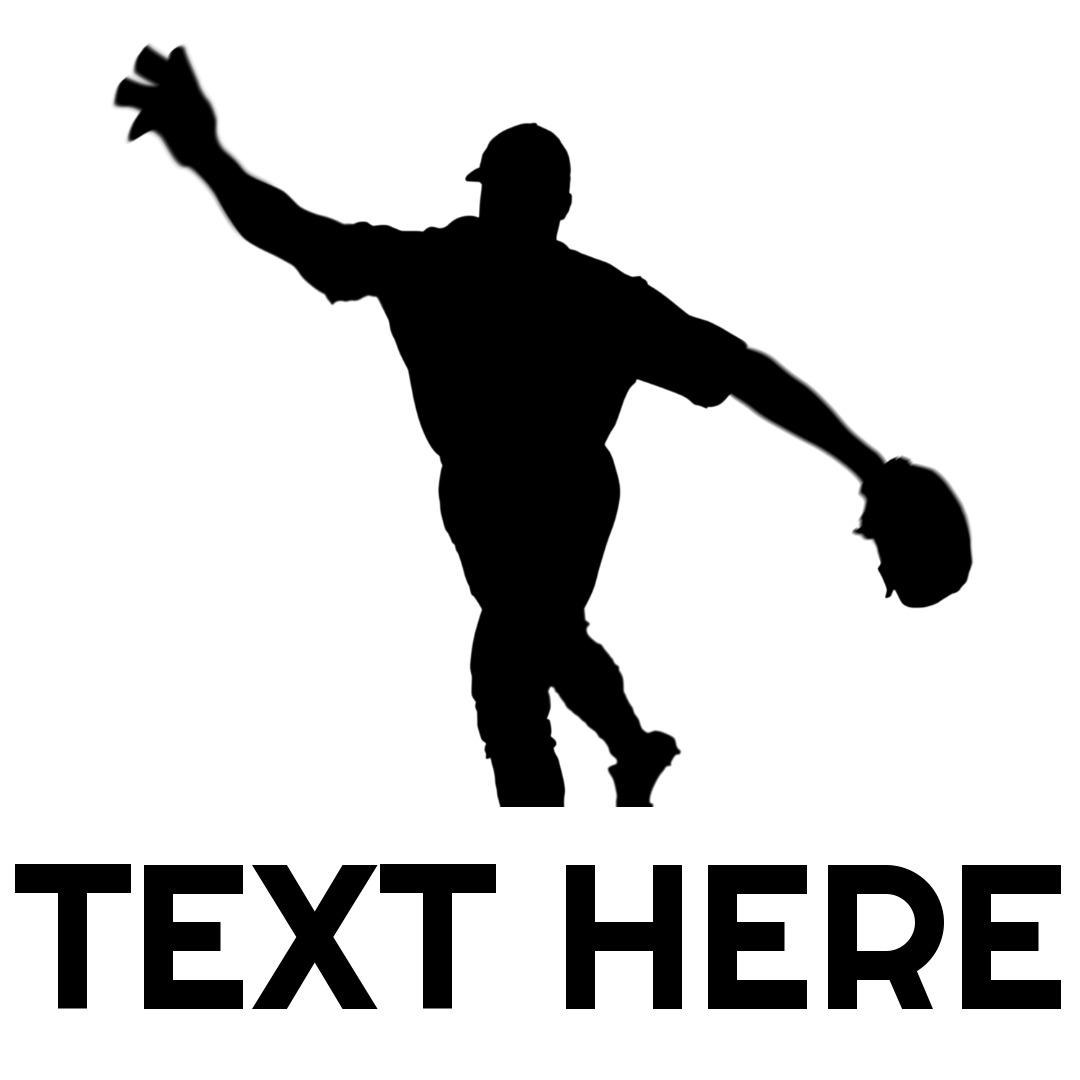 baseball logo throw