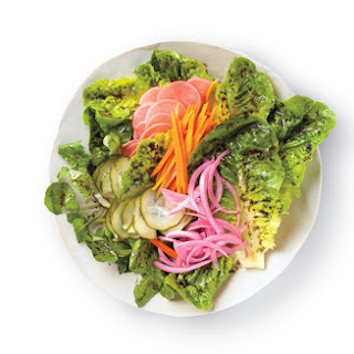 Pickled Vegetable Salad with Nori Vinaigrette