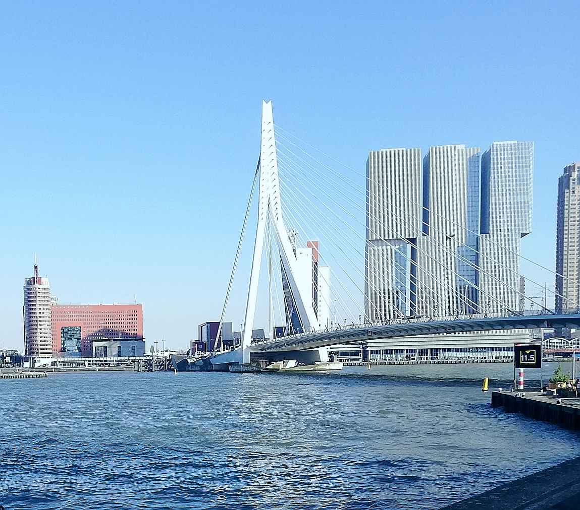 Erasmus Bridge has to be a permanent fixture in a visitor's itinerary.