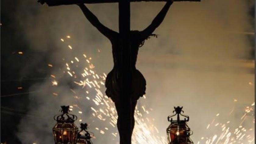 El Cristo de Dalías se queda sin su tradicionales fuegos artificiales.