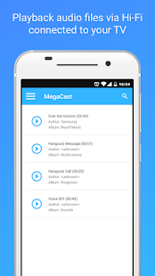 MegaCast - Chromecast player- screenshot thumbnail