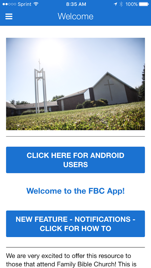 Family Bible Church- screenshot