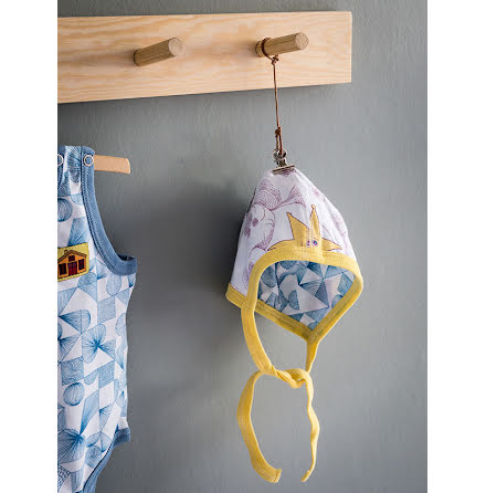 Modeerska Huset Baby Mössa Love Tiles/Starry Sky
