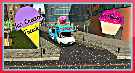 アイスクリームバントラック3D