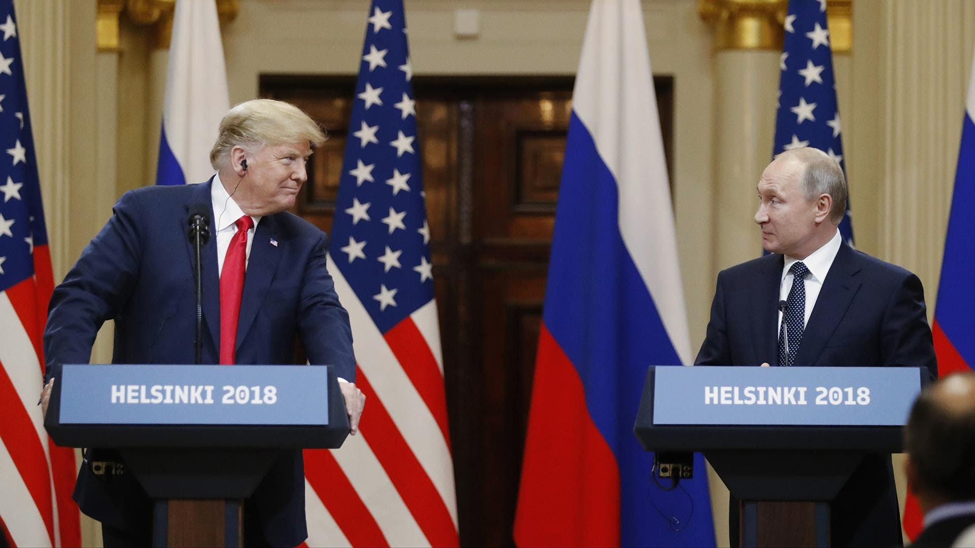 Putin makes bombshell offer to Trump in Helsinki