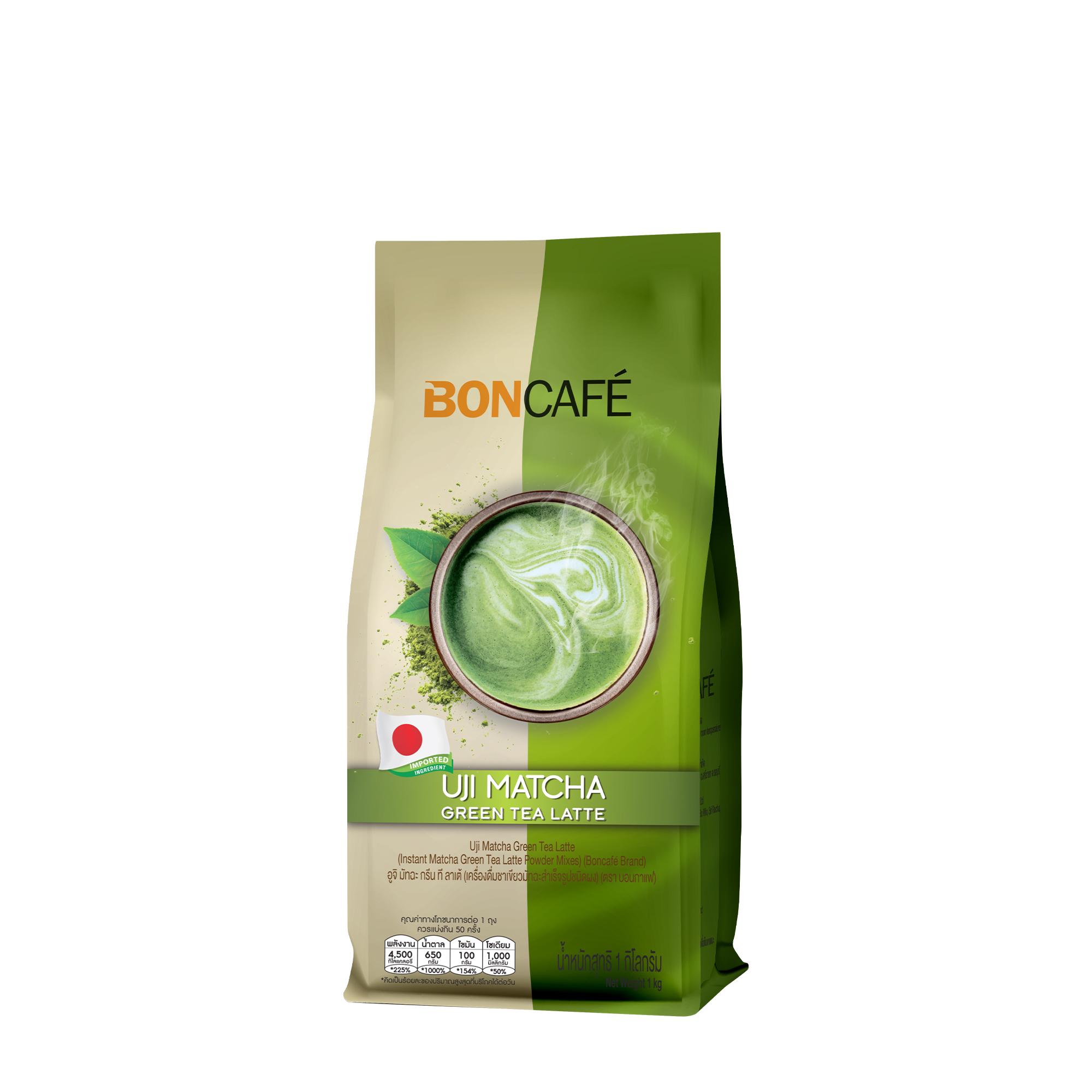 6. ชาเขียว Bon Cafe Uji Matcha Green Tea Base