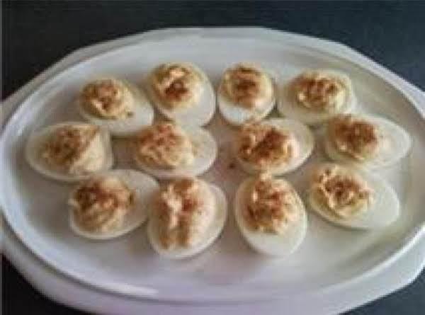 Louisiana Style  Deviled Eggs Recipe