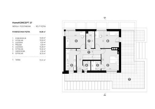 Koncept-37 - Rzut piętra
