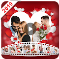 valentine video maker s hudbou - foto slideshow APK