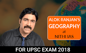 Alok Ranjan's Geography Live Projector Classes from Hyderabad Learning Center for UPSC Mains