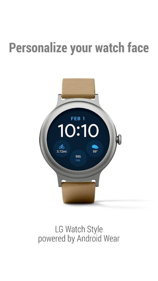 Android Wear - Smartwatch- screenshot