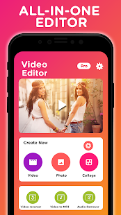 Video Editor: Cut, Resize, No Crop, Music, Effects