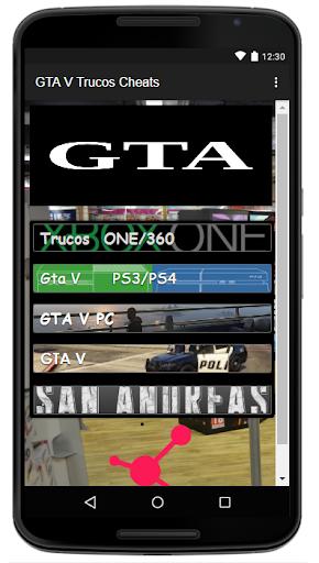 Trucos Cheats para GTA5 2.0 screenshots 1