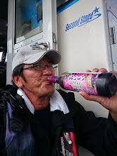 Photo: 祝杯はもちろん、ワイン! 「ぼくの血は、ワインでできている!」 ・・・川島なおみかっ!