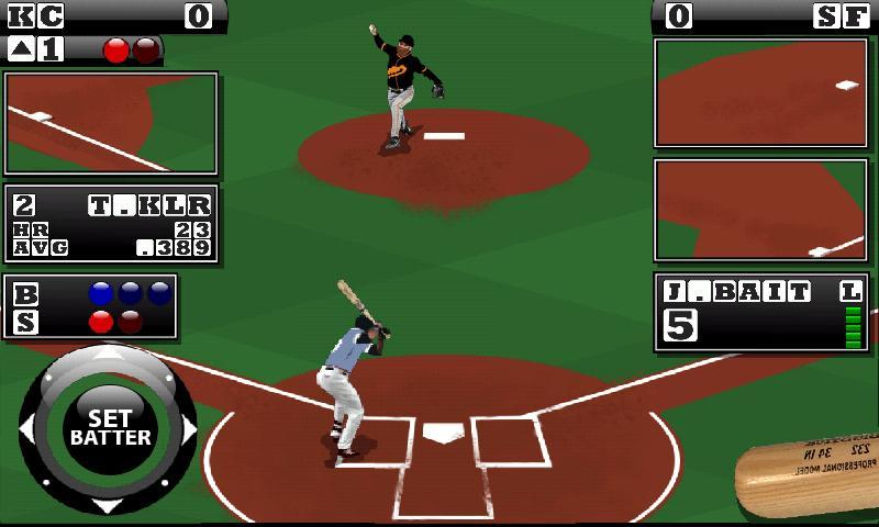 Скриншот Homerun Baseball
