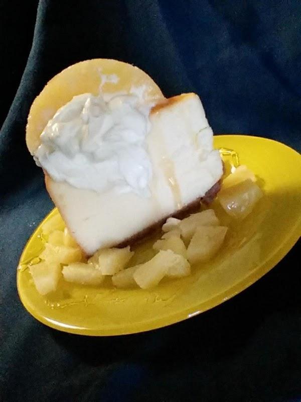 Pina Colada Cheesecake Recipe