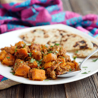Ground Beef and Sweet Potato Curry.
