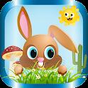 Downward Bunny Hop - Premium icon