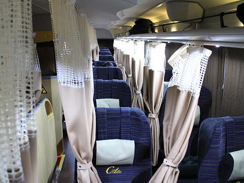 JRバス関東「グランドリーム30号」 車内