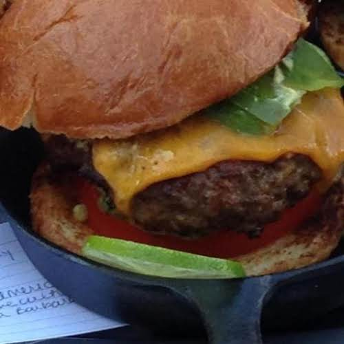 "Kicked-up All-American Cheeseburger ""Why not take the great taste of an All-American..."