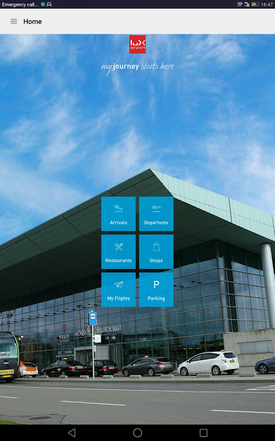 LUX Airport- screenshot
