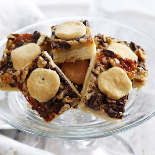 Dulce de Leche Bars with Walnuts and Chocolate