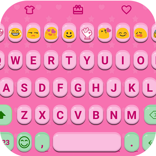 Pink Jelly Emoji Keyboard Skin - Apps on Google Play