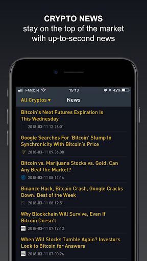 Crypto Tracker by BitScreener  screenshots 7
