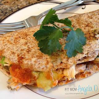 Chicken Avocado Quesadilla.