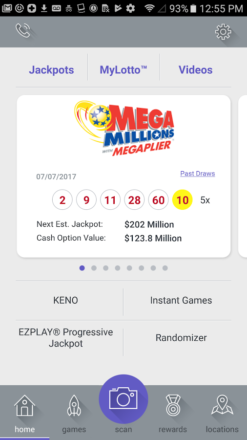 Ohio Lottery- screenshot