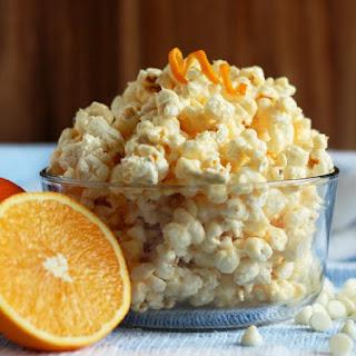 Orange Creamsicle Popcorn