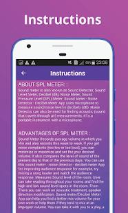 App SPL Meter, Sound Meter, Noise Detector,Sound Level APK for Windows Phone