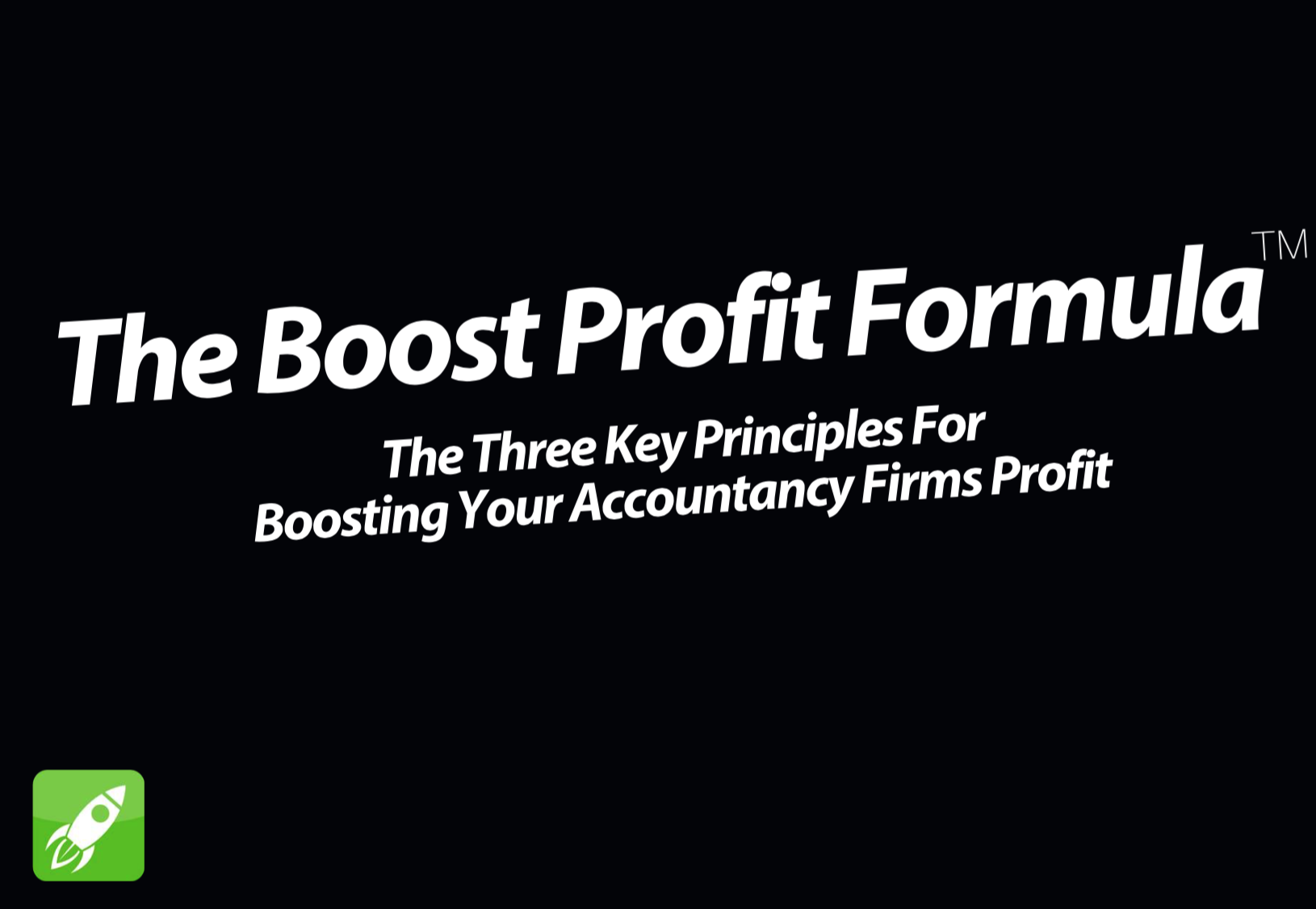 The Boost Profit Formula™ | Marketing For Accountants | Amanda C. Watts | Matthew J. Watts