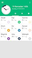 Screenshot of Prayer Time Complete
