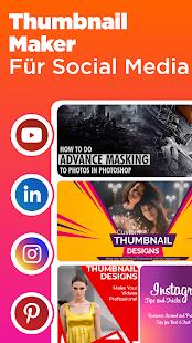 Thumbnail Erstellen - Abdeckung Foto für Youtube Screenshot