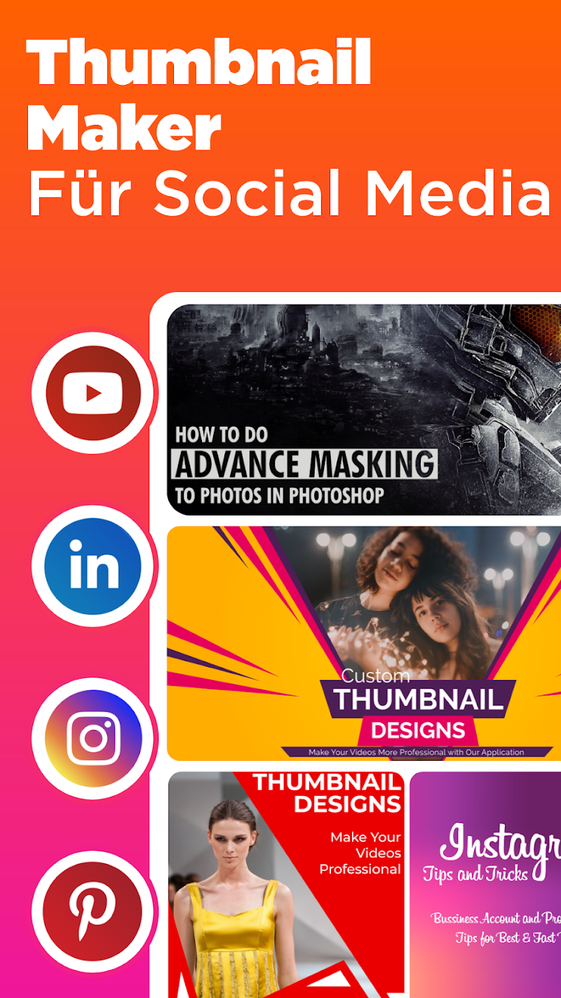 Thumbnail Maker – Create Banners, Covers & Logos v11.1.1 [PRO] SAP APK [Latest]