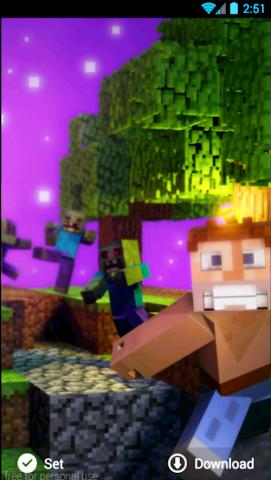 android Hintergrundbilder minecraft Screenshot 6