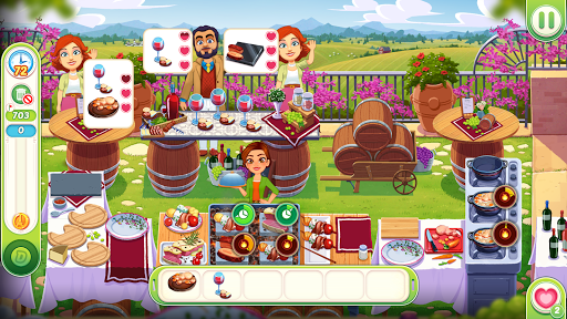 Delicious World - Romantic Cooking Game apklade screenshots 2