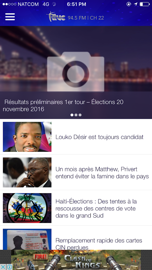 RTVC HAITI- screenshot