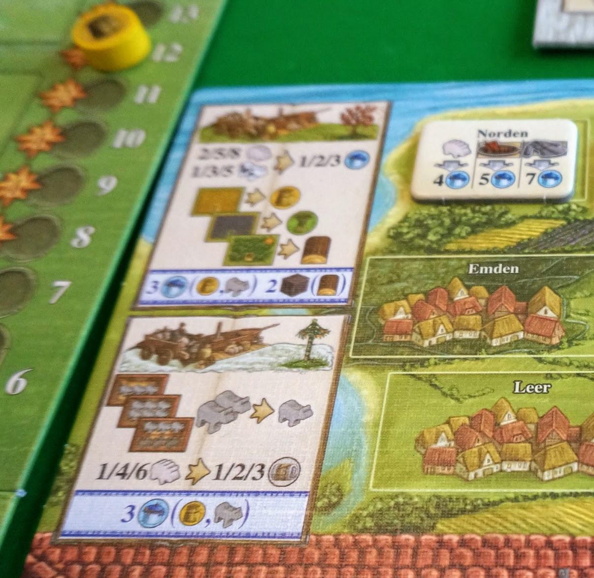 アルルの丘:拡張 紅茶と交易:生産フェーズ