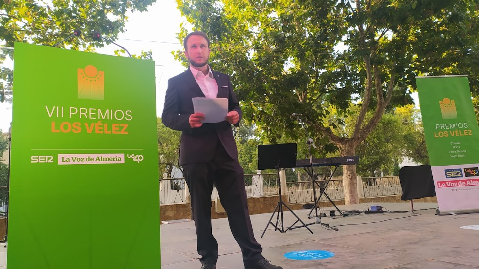 El periodista de LA VOZ Fernando Moldenhauer, conductor de la gala.
