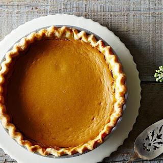 Meta Given's Pumpkin Pie.