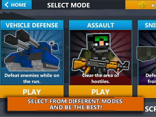 Cube Wars Battle Survival screenshots 9