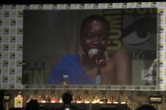 Photo: Friday - The Walking Dead panel; star Danai Gurira (Michonne!)