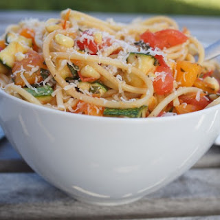 Fresh Summer Vegetable Pasta