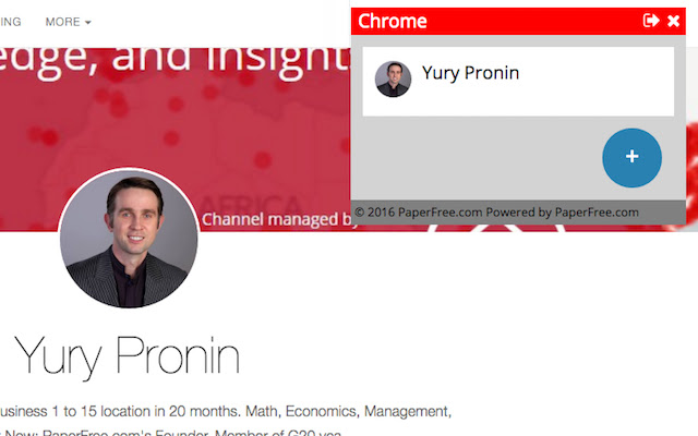 PaperFree Chrome