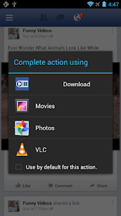 Video Downloader For Facebook - screenshot thumbnail