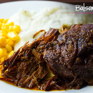 Balsamic and Honey Pot Roast.