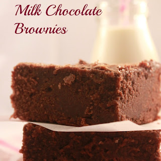 Milk Chocolate Brownies.